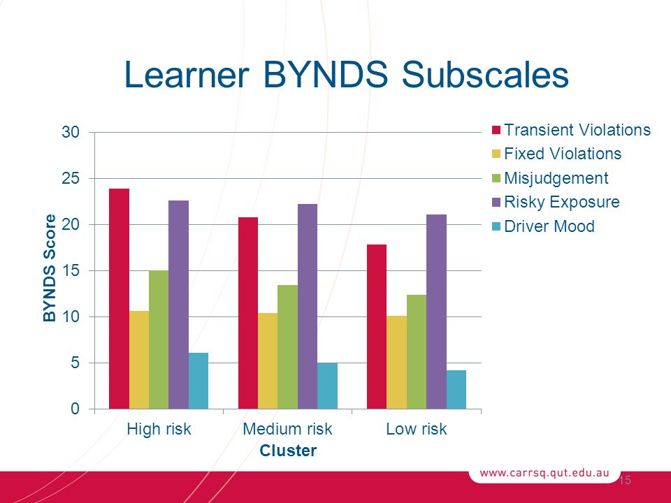 15 Learner BYNDS Subscales