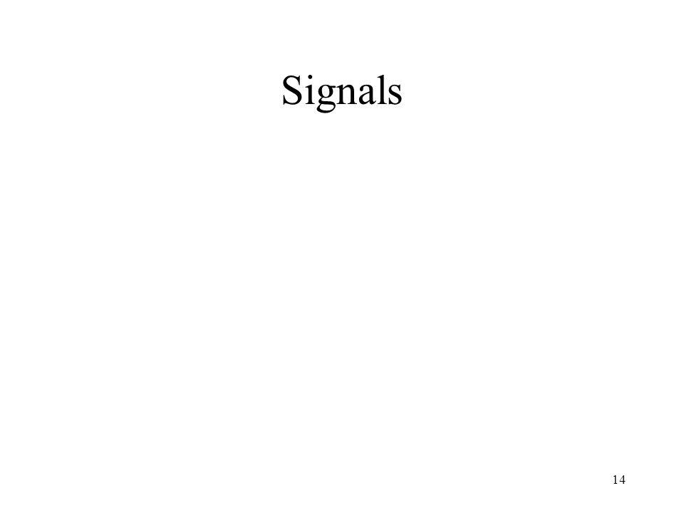 Signals 14