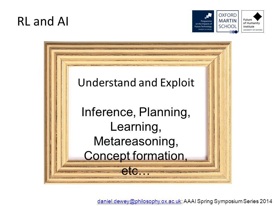 Definitions: dominance daniel.dewey@philosophy.ox.ac.ukdaniel.dewey@philosophy.ox.ac.uk; AAAI Spring Symposium Series 2014 1?0???0.