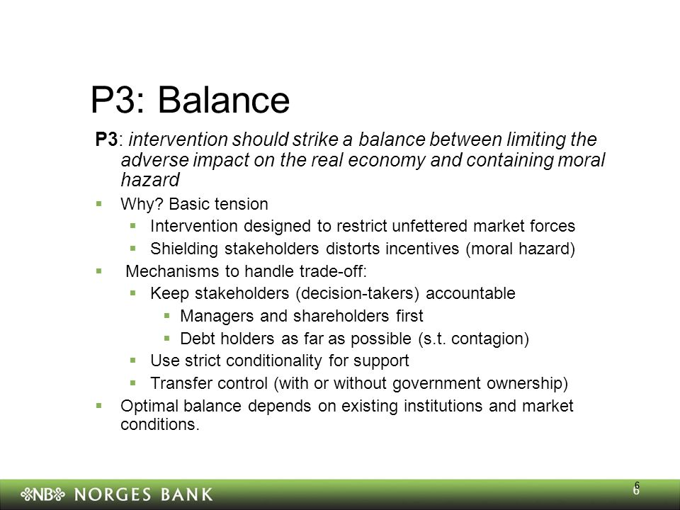 Why the differences Norges Bank Finansiell stabilitet