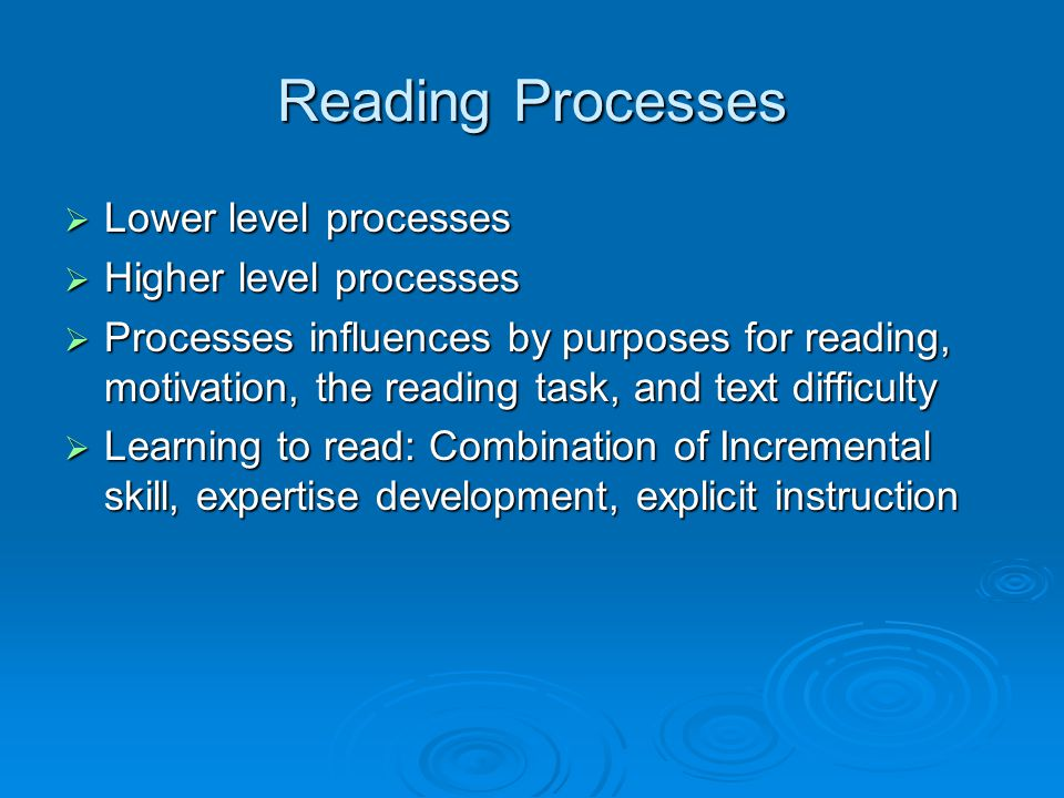 Becoming a Strategic Reading 8.Use text structure information to guide understanding 9.