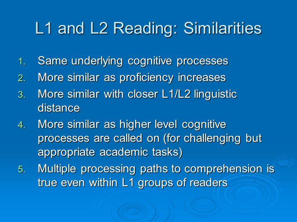 Foundations for L2 Reading Development William Grabe Northern Arizona University william.grabe@nau.edu