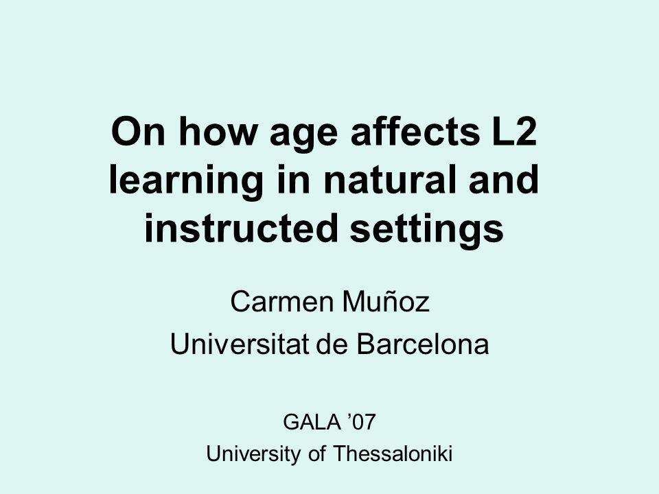 C. Muñoz - Gala 07 Morphosyntax ES < LS Increase in morphosyntax gains around puberty years