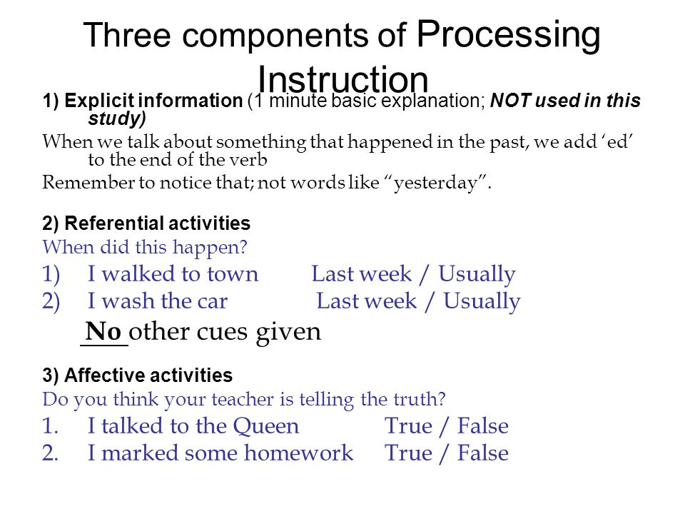 What is Processing Instruction.