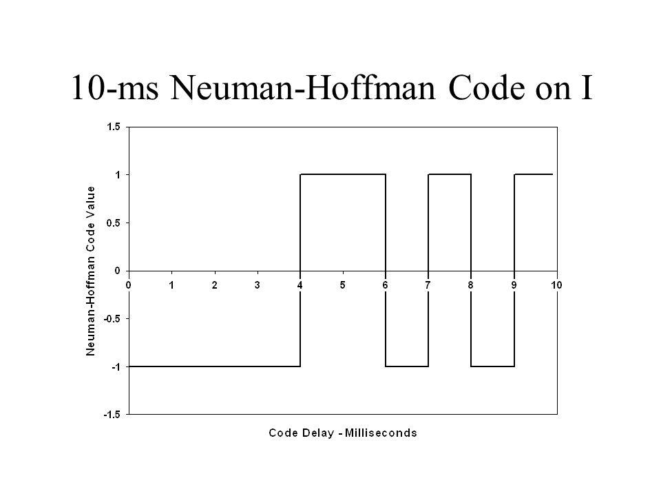 10-ms Neuman-Hoffman Code on I