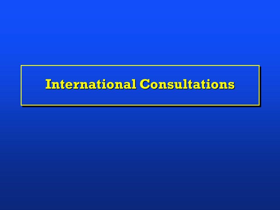 International Consultations