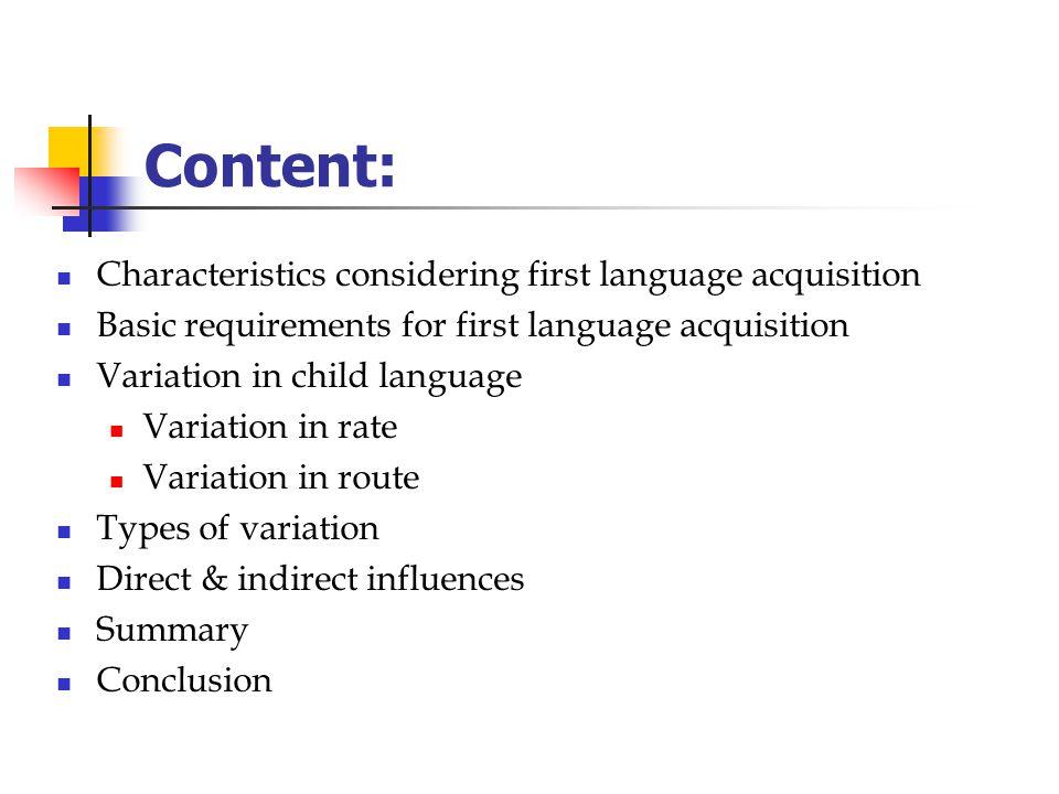 Language and the Brain Prof. R. Hickey SS 2006 Variation in child language Aleksandra Wolek (Hauptstudium LN)