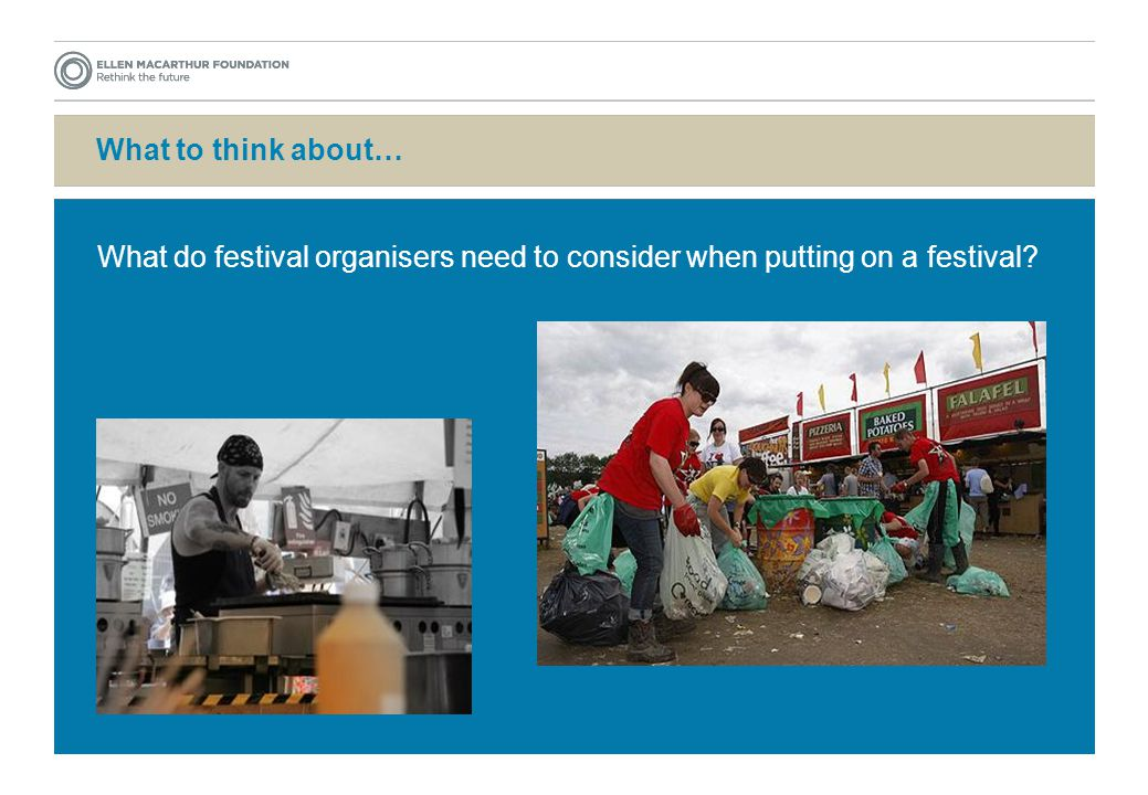 What to think about… What do festival organisers need to consider when putting on a festival