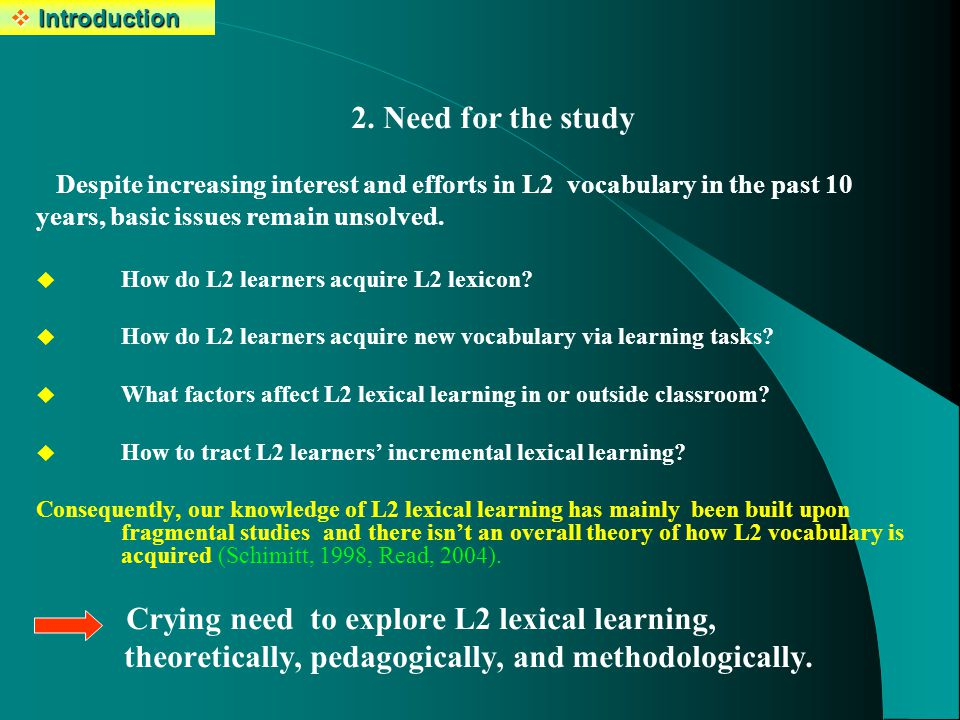 Effects of task type Findings &discussions Conclusions 1.