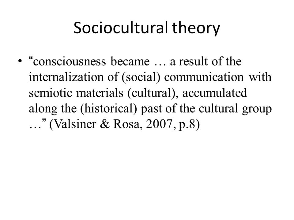 Sociocultural theory Vygotsky (1987) called gestures the material carriers of thinking (as cited in McNeill and Duncan 2000) Furthermore, McNeill (1992) suggests that iconic gestures are the closest we ever get to seeing the thoughts of others