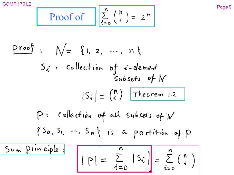 COMP 170 L2 Page 40 Past Exam Question