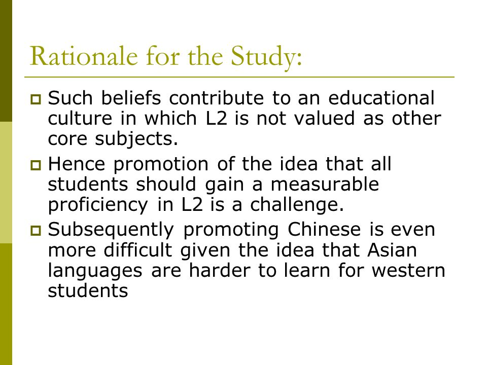 IMPACT OF EARLY SECOND LANGUAGE LEARNING ON FIRST LANGUAGE A Study of the Confucius Institute in Edmonton In Partnership with Edmonton Public Schools