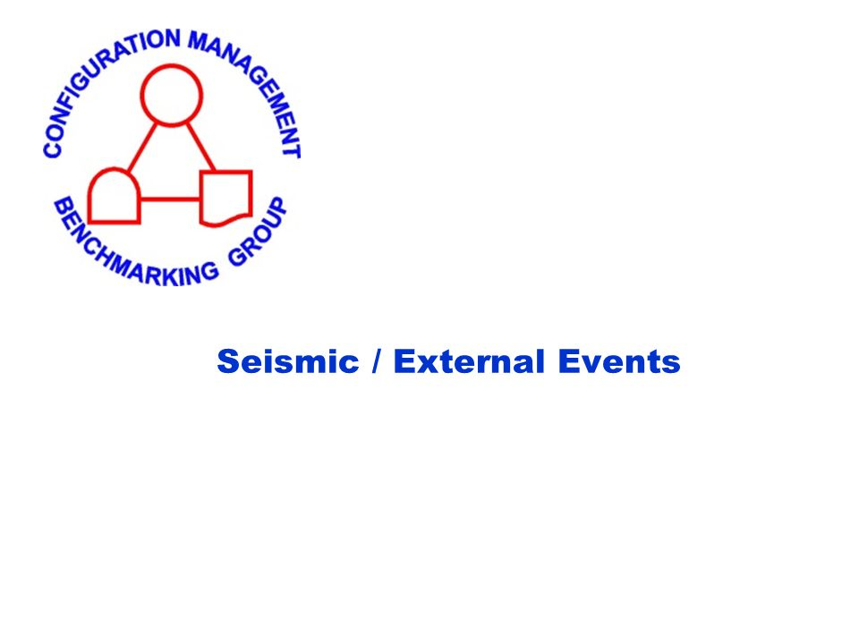 Seismic / External Events