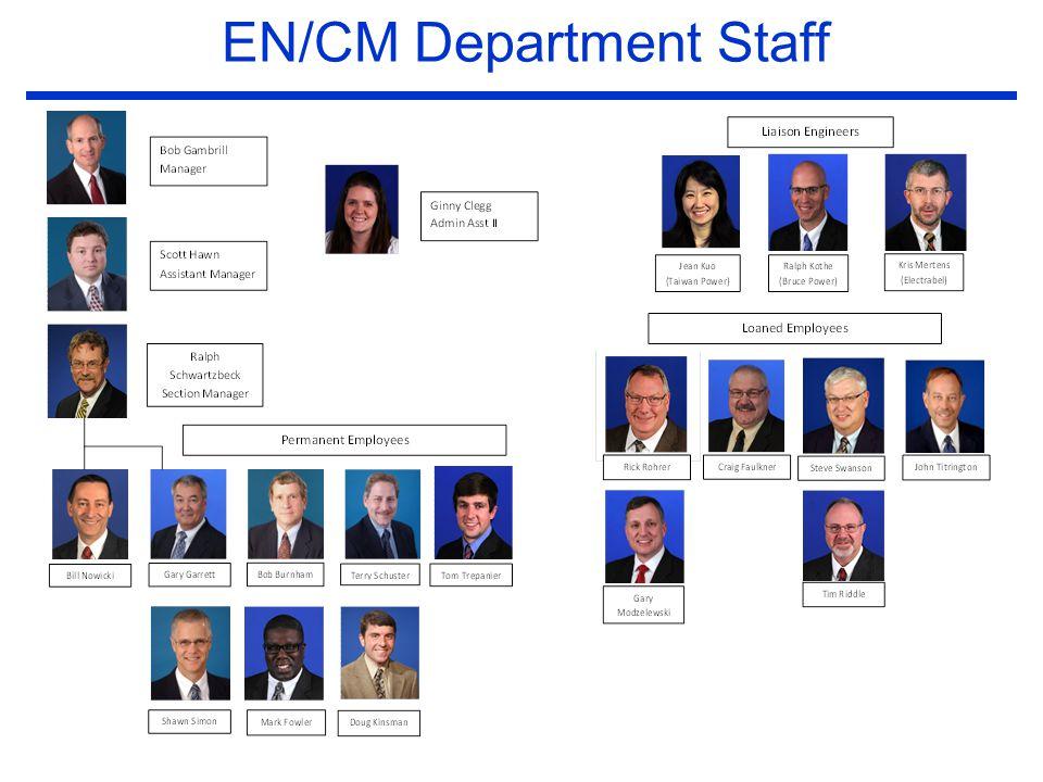 EN/CM Department Staff