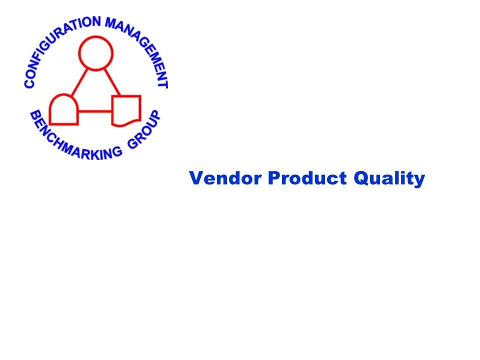 Vendor Product Quality