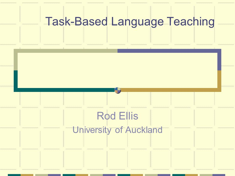Focussing on Form Opportunities to focus on form arise in task-based teaching: Definition: Focus on form … overtly draws students' attention to linguistic elements as they arise incidentally in lessons whose overrriding focus is on meaning or communication.
