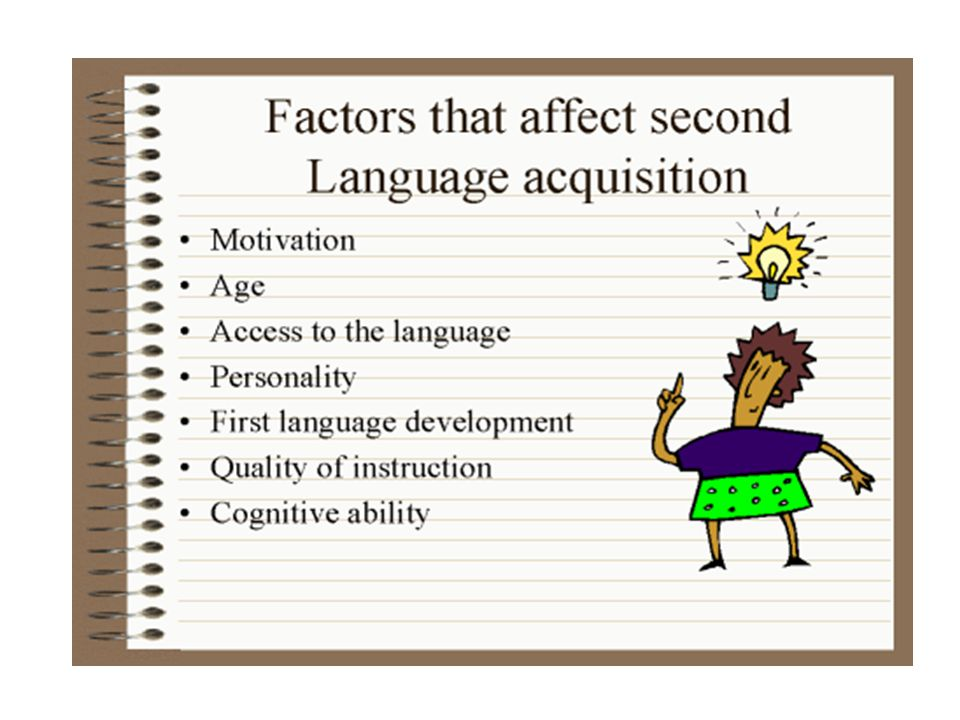 Summary There is no agreement on a complete theory of second language acquisition yet.