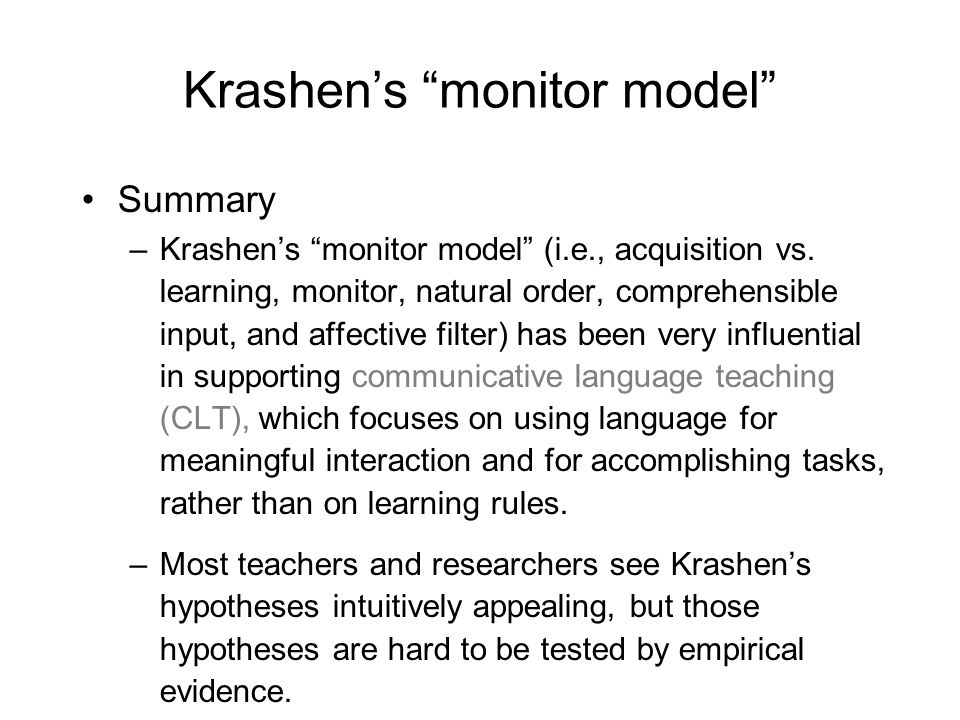 Information processing Cognitive psychologists working in this model see L2 acquisition as the building up of knowledge systems that enables the learner to use the language automatically.