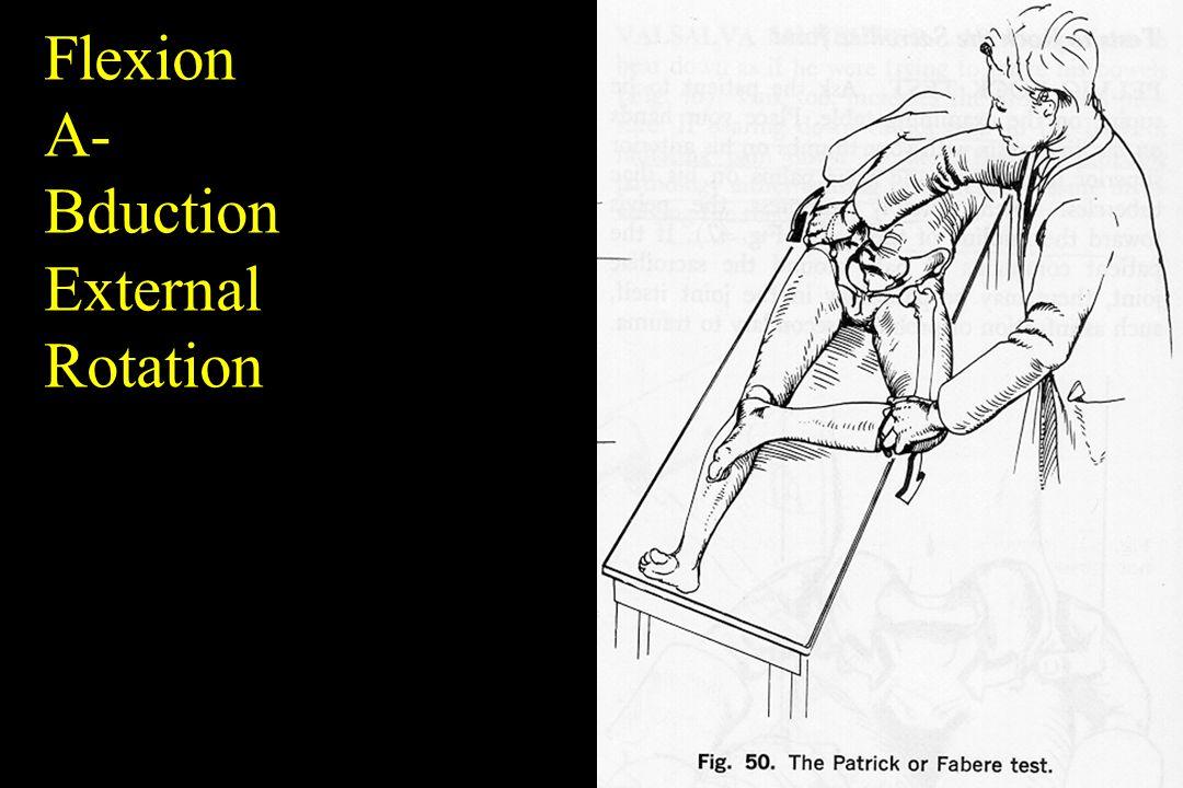 Flexion A- Bduction External Rotation