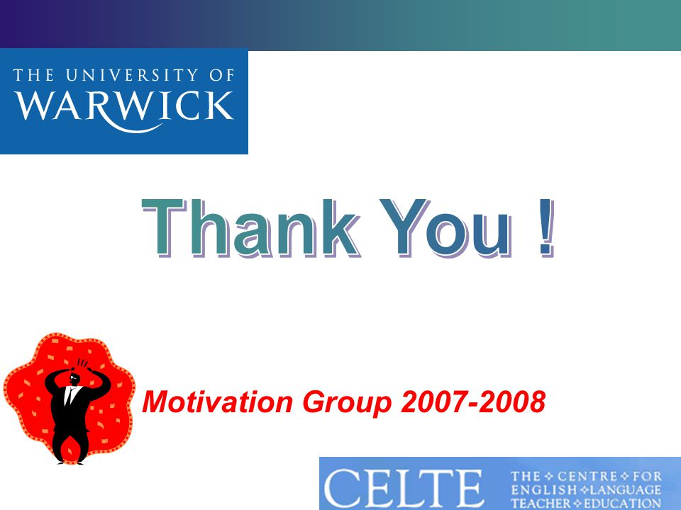 28 Motivation Group 2007-2008
