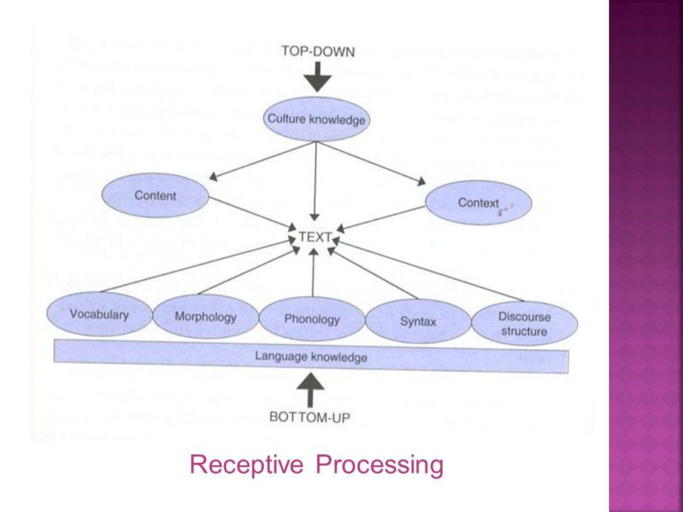 Receptive Processing