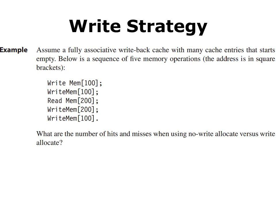 Write Strategy