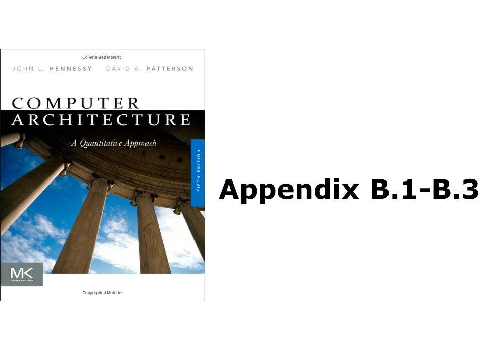 Appendix B.1-B.3