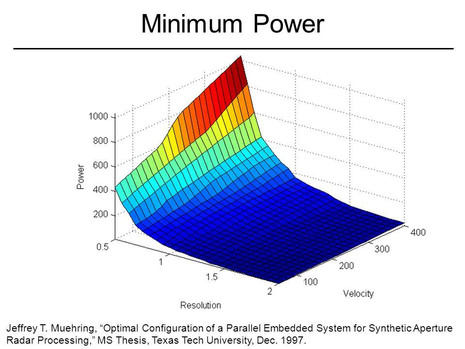 Minimum Power Jeffrey T.