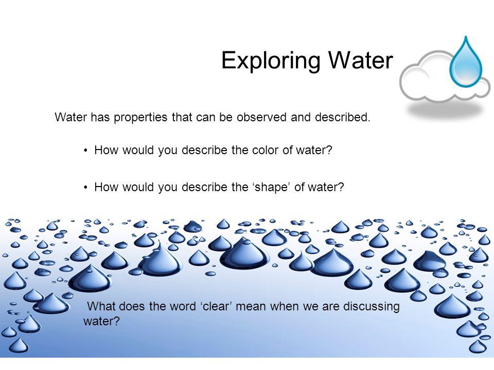 Natural Sources of Water ocean