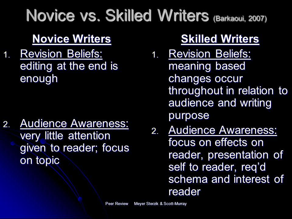 L2 Writing and Checklist Peer Review Angela Meyer Sterzik & Karen Scott-Murray