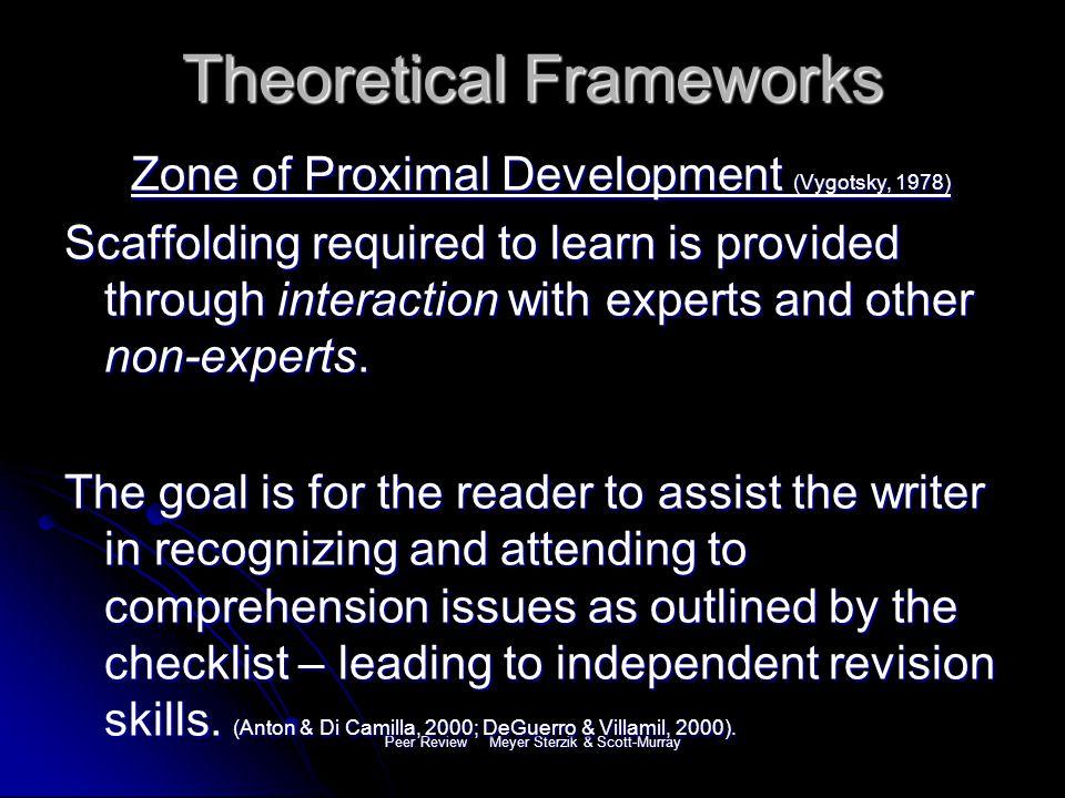 Peer Review Meyer Sterzik & Scott-Murray References Anton, M.