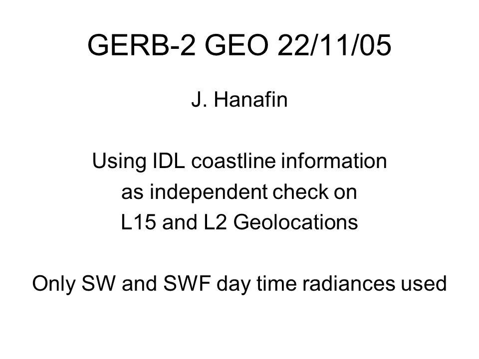 GERB-2 GEO 22/11/05 J.