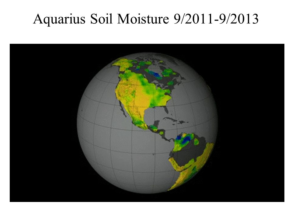 Aquarius Soil Moisture 9/2011-9/2013