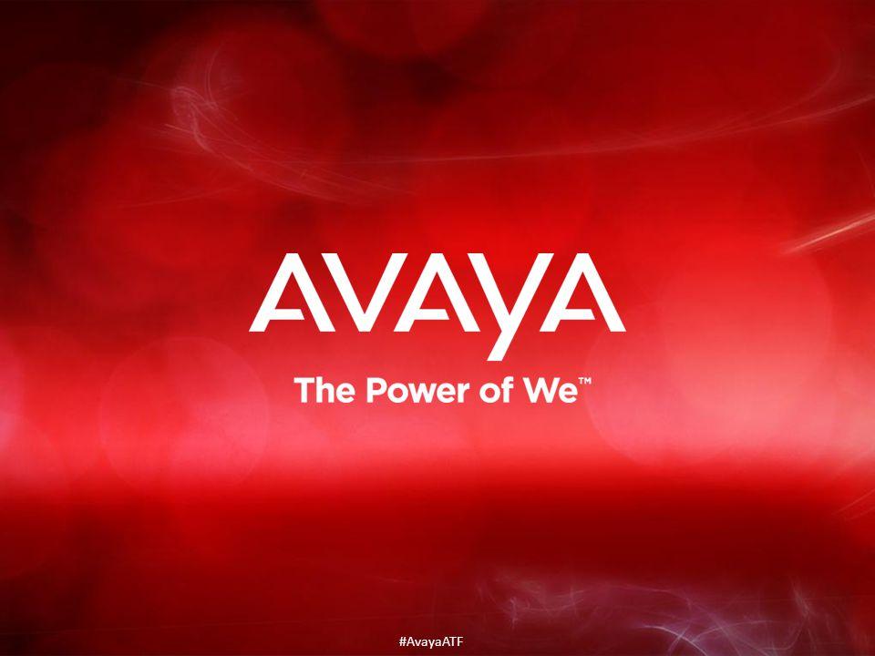 #AvayaATF