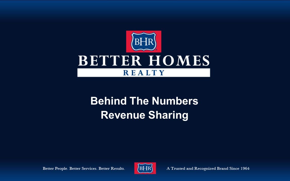 Behind The Numbers Revenue Sharing