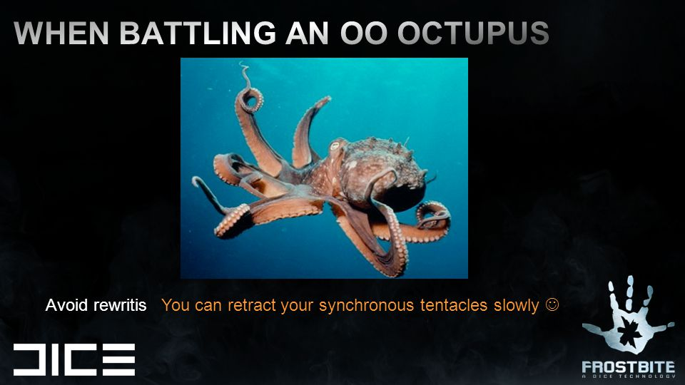 Avoid rewritis You can retract your synchronous tentacles slowly