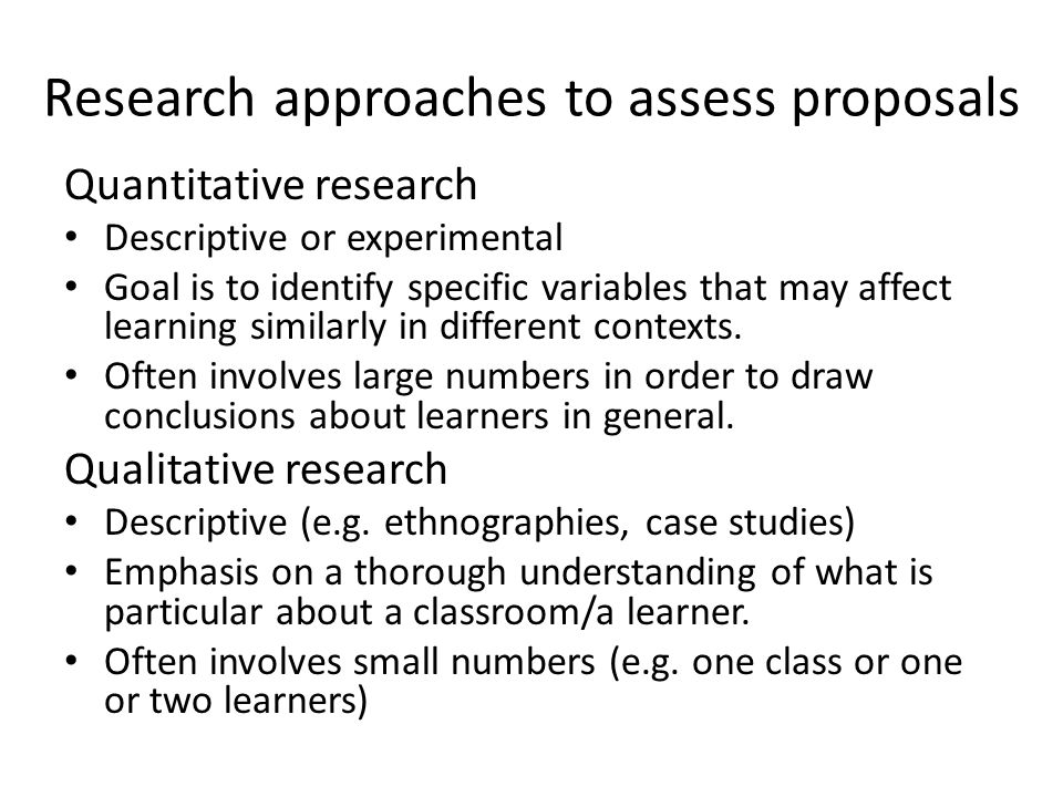 Action research Carried out by teachers in their own classrooms Essential to answer specific, local questions