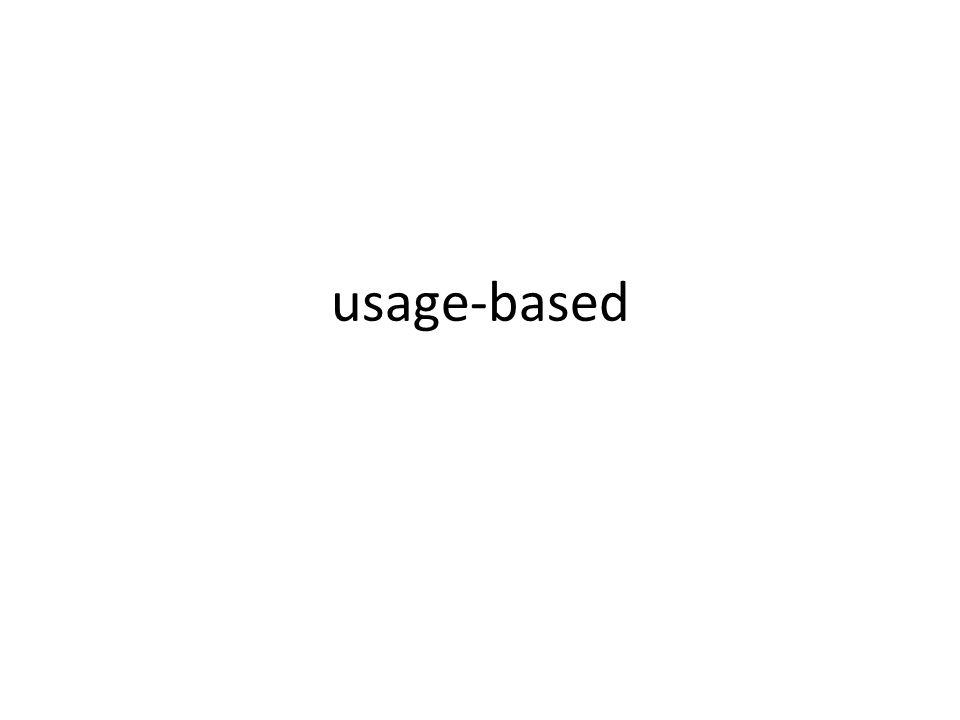usage-based