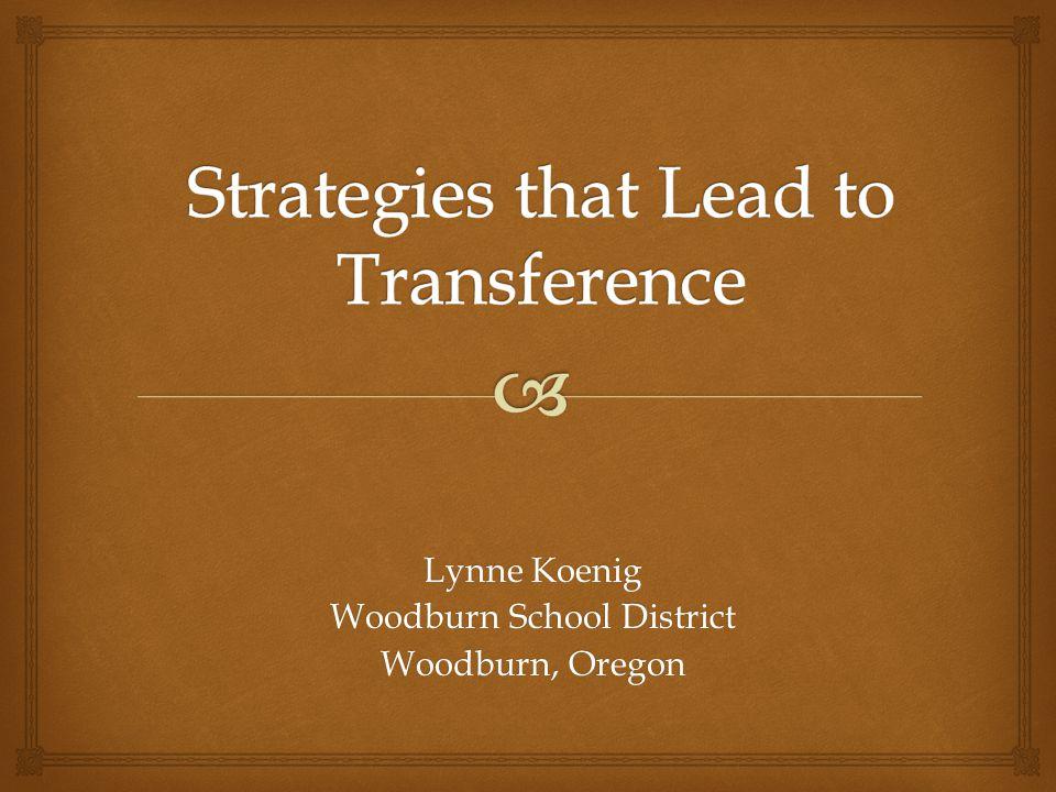  Woodburn School District  4 Elementary, 2 Middle, 5 High schools Washington Elementary School Pop.