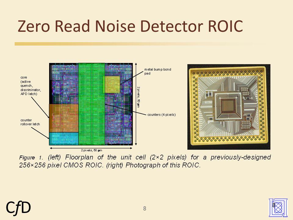 8 CfDCfD Zero Read Noise Detector ROIC 8