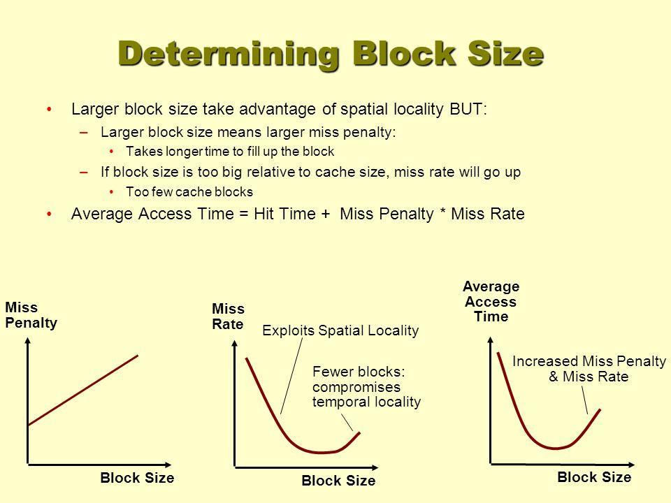 Techniques for Reducing Misses 1.Reducing Misses via Larger Block Size 2.
