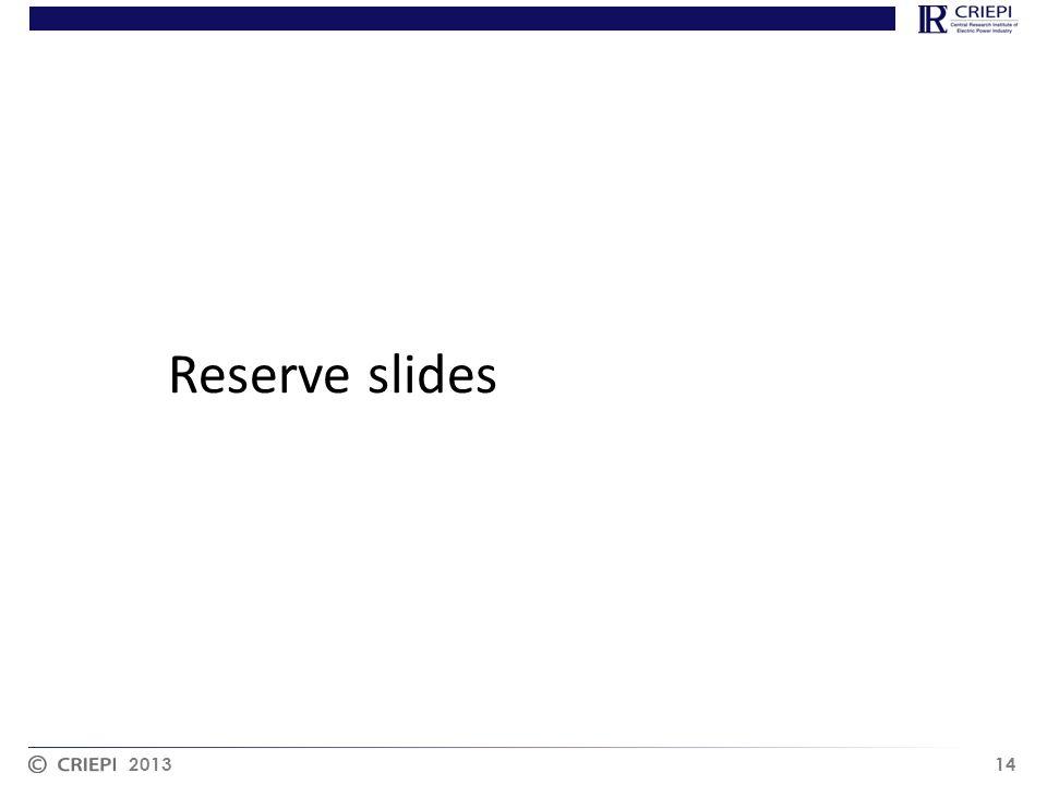 2013 14 Reserve slides