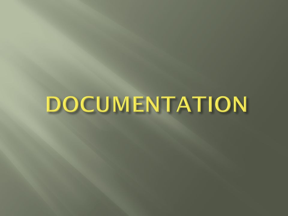  Be able to document accurately and appropriately in scientific language.