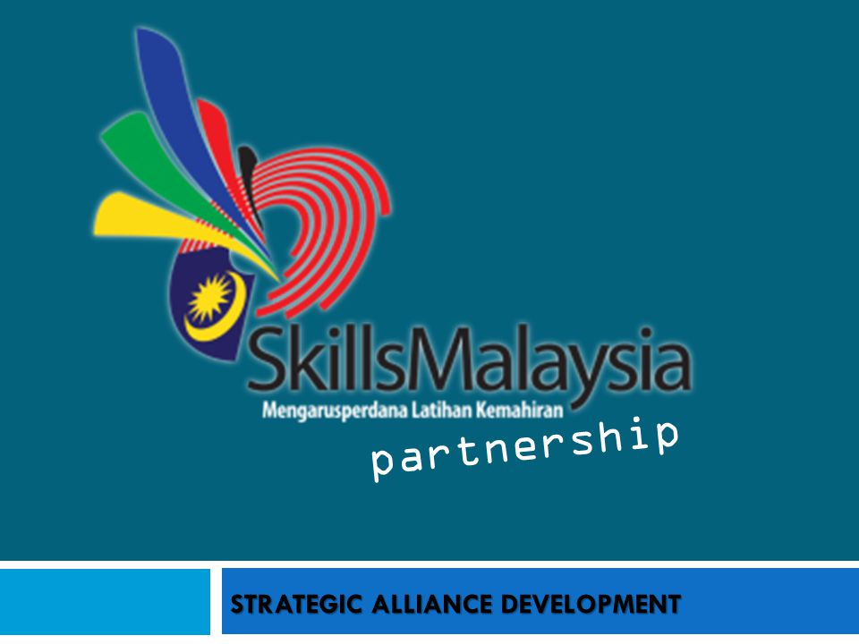 STRATEGIC ALLIANCE DEVELOPMENT partnership