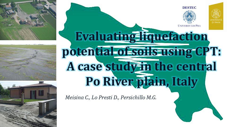 Meisina C., Lo Presti D., Persichillo M.G.