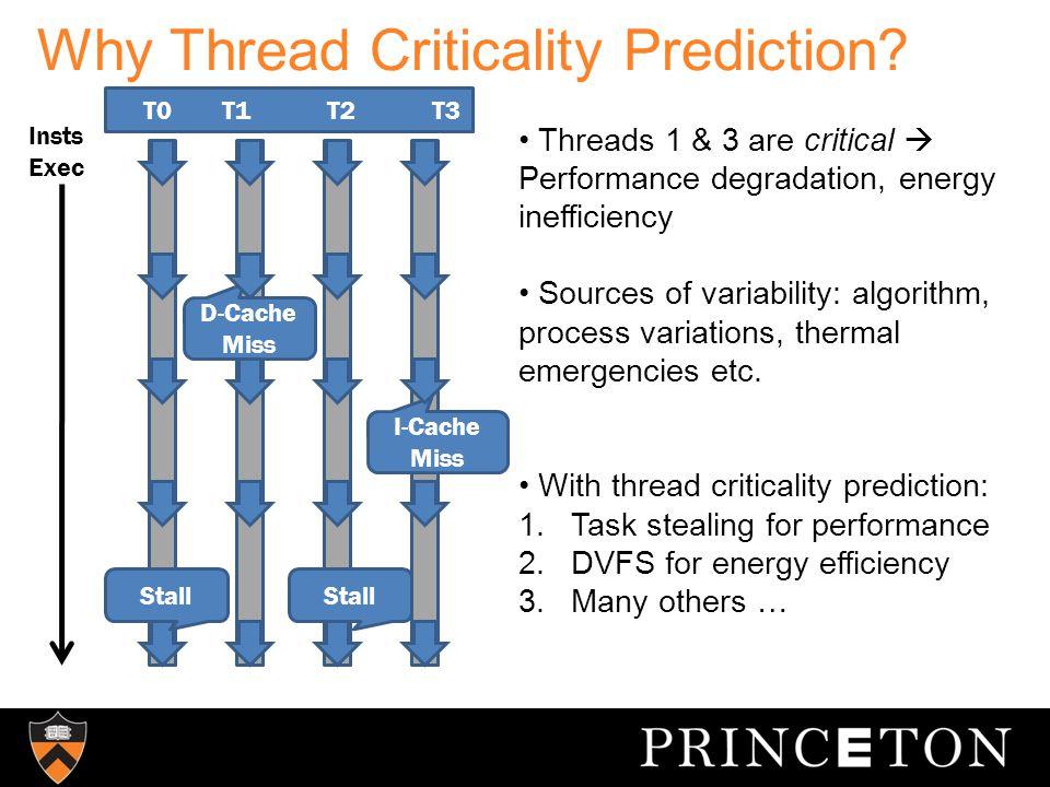 Related Work  Instruction criticality [Fields et al., Tune et al.