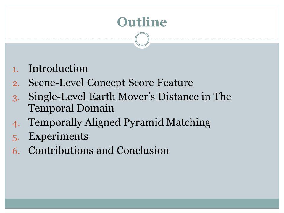 Concept Score Feature versus Low-Level Features