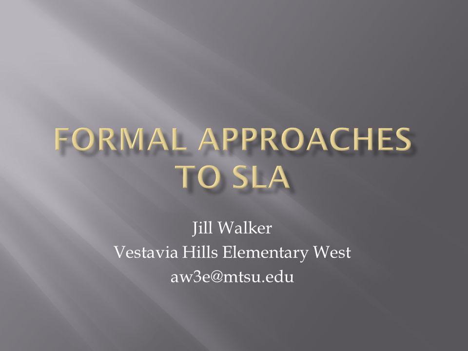 Jill Walker Vestavia Hills Elementary West aw3e@mtsu.edu