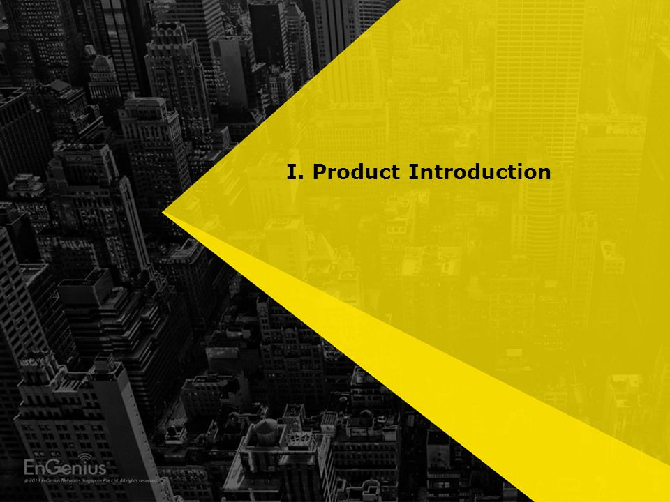 I. Product Introduction