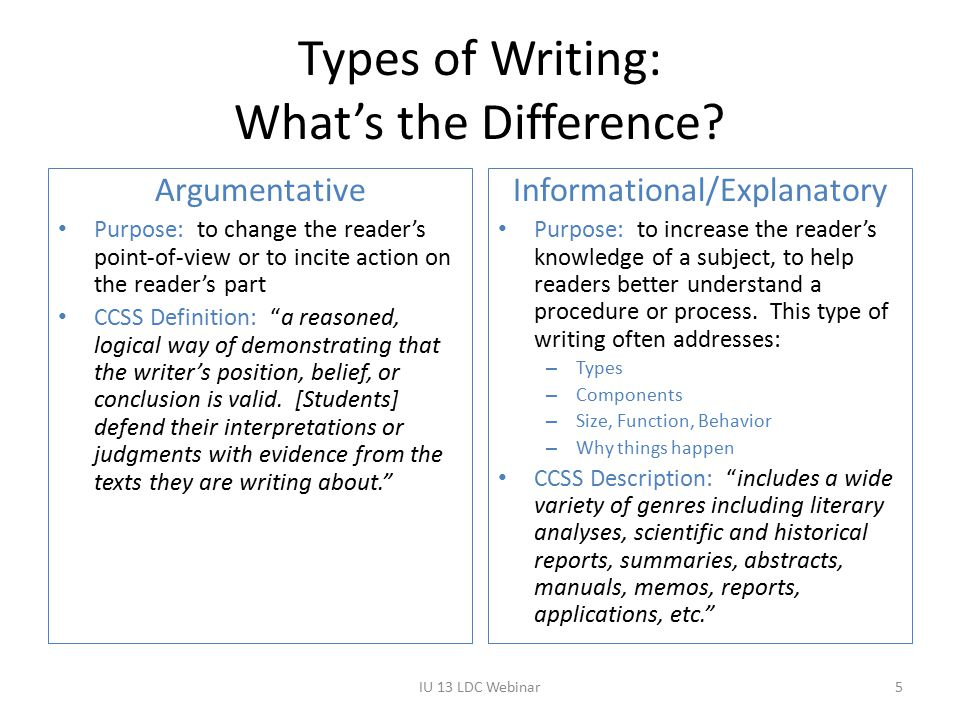 Element by Element Comparison (Focus) Not YetApproaches Expectations Meets Expectations Advanced ArgumentativeAttempts to address prompt, but lacks focus or is off-task.